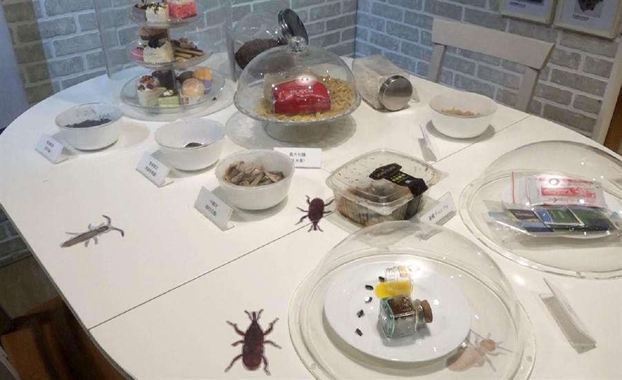 家中若有食物及垃圾未立即包裝密封,轉眼就成了蟲蟲的「自助吧」,台北市立動物園舉辦「我家蟲住民」特展,提供民眾認識家中蟲蟲的新知。(台北市立動物園提供)