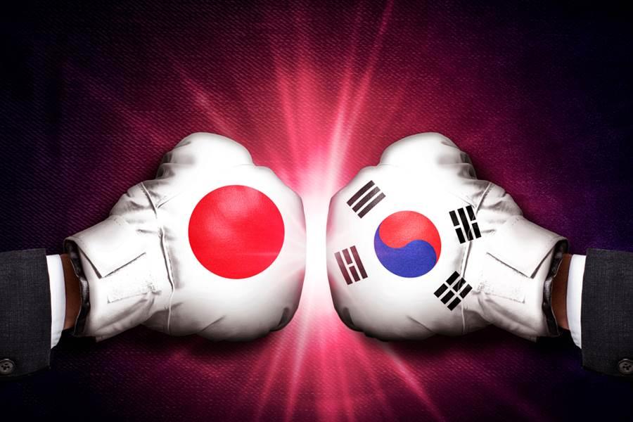 為了報復日本日前將象徵貿易友好的白名單中剃除,南韓政府12日正式宣佈也將日本從白名單移除。(示意圖/達志影像)