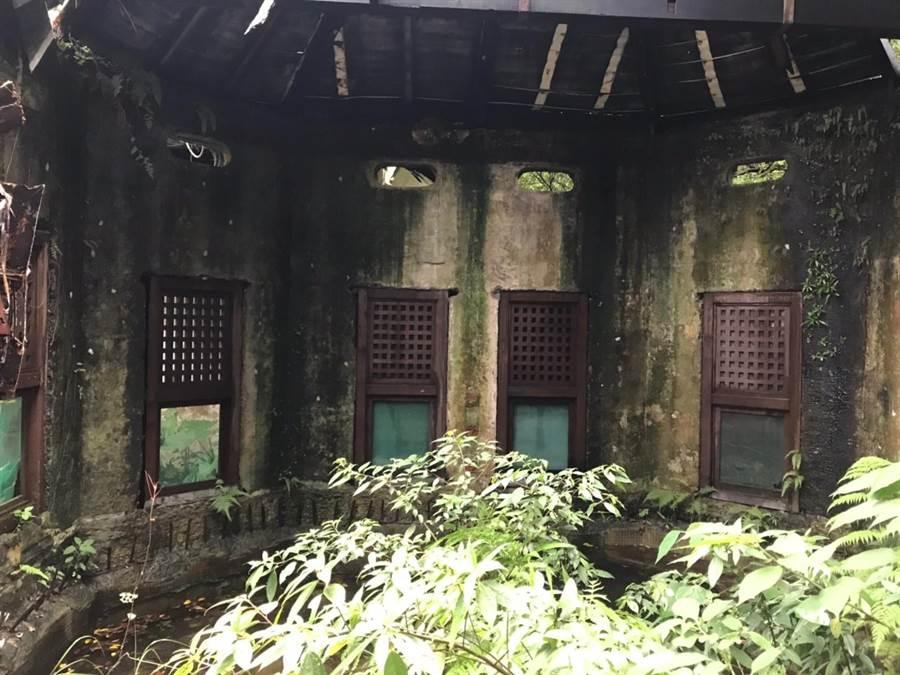 北市文化局12日舉行的文資審議會,通過將台北市士林區陽明路一段的「原巴旅館澡堂」,登錄為歷史建物。(北市文化局提供)