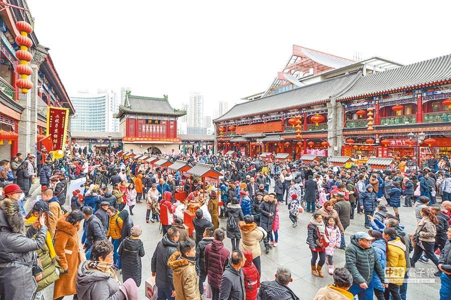 日韓貿易戰延燒,南韓旅客赴日旅遊大減,業者轉向擴大大陸航線尋求商機。(圖/中新社資料照)