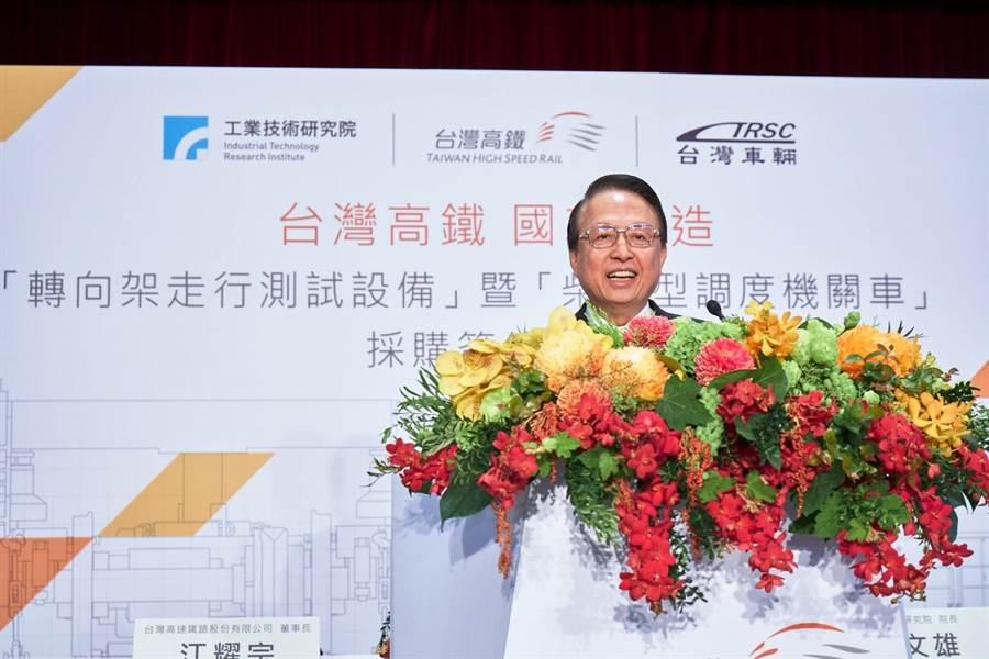 台灣高鐵公司董事長江耀宗。(資料照)