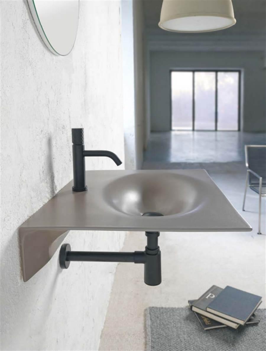 Scarabeo瓷面盆,Veil系列集結精緻工藝與實用機能。(麗舍提供)