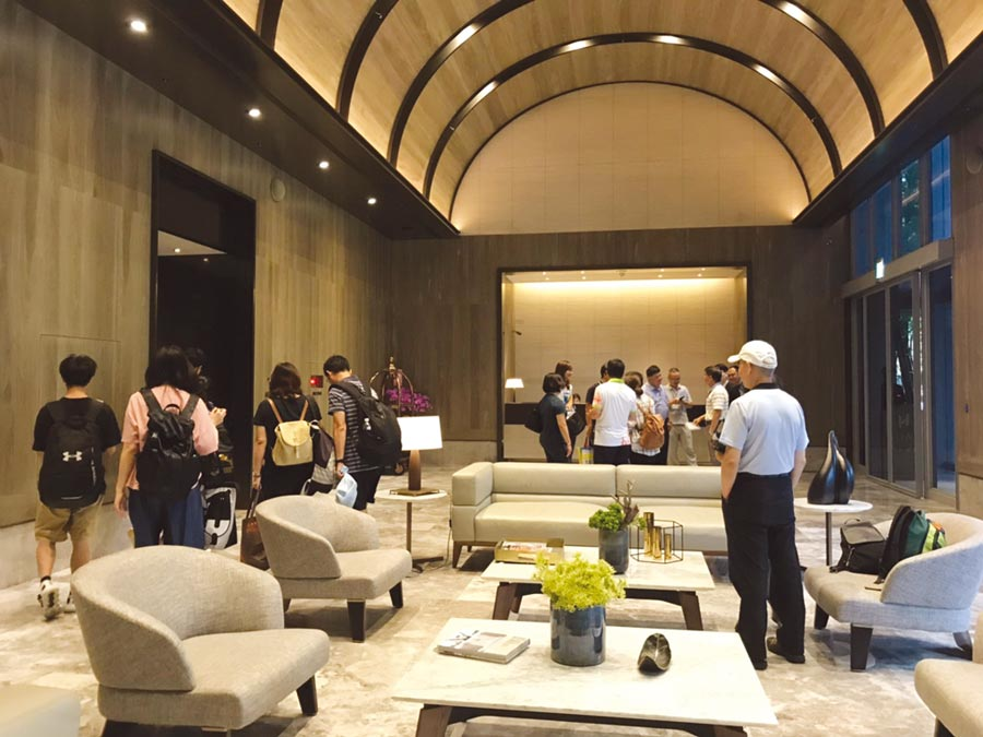 順天環匯酒店今年暑假期間、平均入住率成長二至三成。圖/曾麗芳
