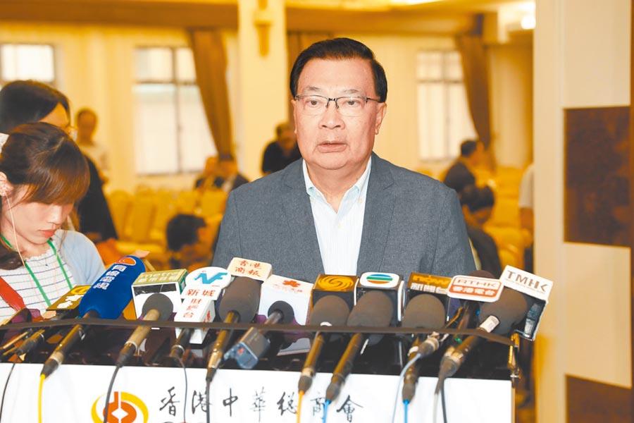 港籍全國人大常委譚耀宗。(中新社資料照片)