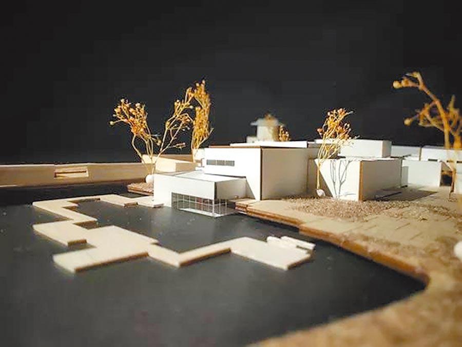 天津95後大學生為頤和園設計的保護方案模型。(取自天津大學)
