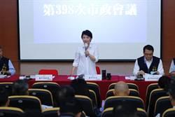 台中豪雨兩處小積水  市政會議盧秀燕報告災情