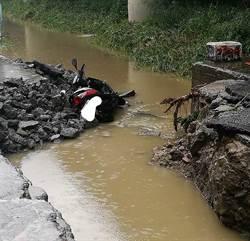 岡山女騎士被大水沖走 警消找到遺體