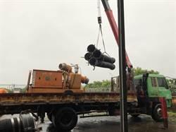 解決淹水 水利署2級開設支援15台抽水機