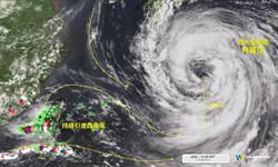 南台灣被害死  天氣風險:就是這巨無霸引進西南風