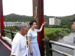 雙溪共和橋補漆工程敷衍 林裔綺轟像貼狗皮藥膏