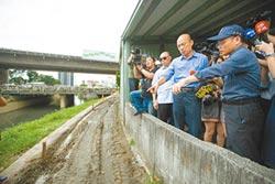 韓盯清淤 視察2溪流整治工程