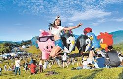 台東熱氣球 遊客近百萬人次