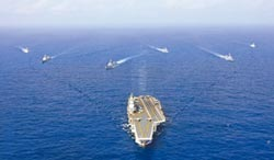 遼寧號逼進關島 不靠陸地支援