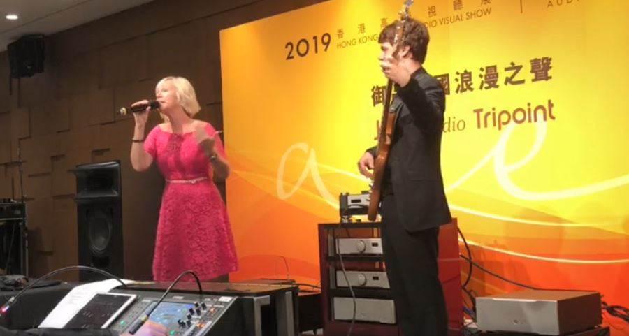 加拿大歌手Anne_Bisson將會受邀來台在TAA台灣國際音響大展中演唱。(圖取自活動官網)