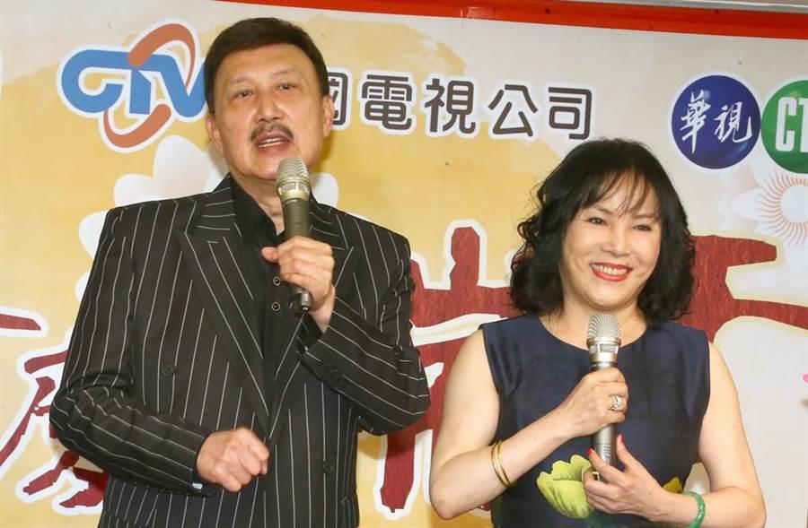 李亞萍在節目上透露曾與余天制伏機上醉漢的事蹟。(圖/中時資料照)