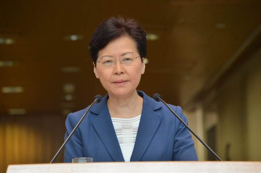 香港特首林鄭月娥今早會見媒體。(圖/翻攝自星島日報)