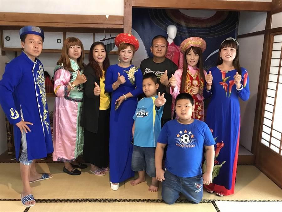 台西海口故事館打造新住民故事屋。(張朝欣攝)
