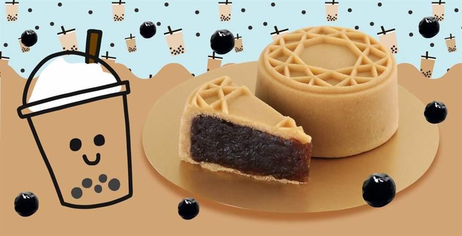 珍珠奶茶月餅(圖/金格KÖNIG提供)