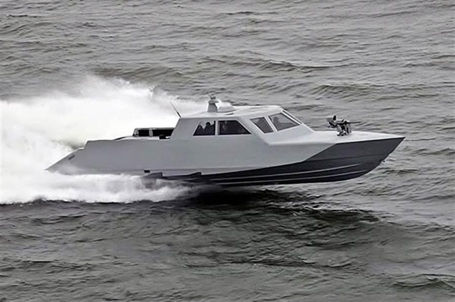 美國海軍秘密特戰艇「馬克1號」。(圖/USSOCOM)