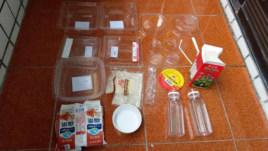 塑膠製品應用廣泛,很難根絕。(圖/綠色和平提供)