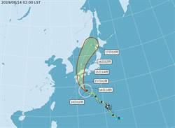 輕颱柯羅莎明將登陸日本 赴日小心