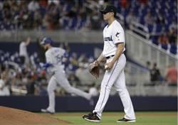 MLB》陳偉殷2局挨3轟 成貝林傑39轟苦主