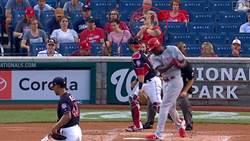 MLB》超猛新秀界外球 讓球迷嚇到啤酒噴飛