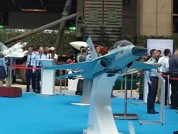 首架國產高級教練機模型航太國防展亮相
