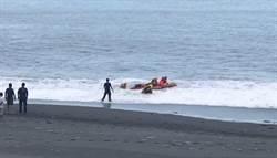 快訊》台東夏令營9小朋友遭大浪捲走 救起8人1人失蹤
