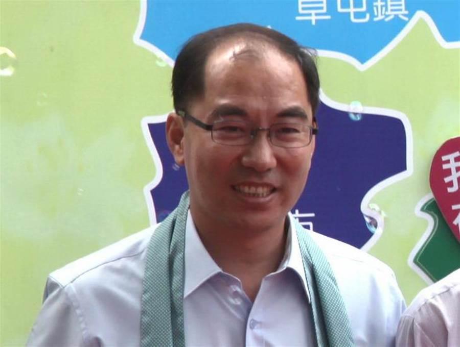 民進黨籍水里鄉長陳癸佑,將參選立委。(廖志晃攝)