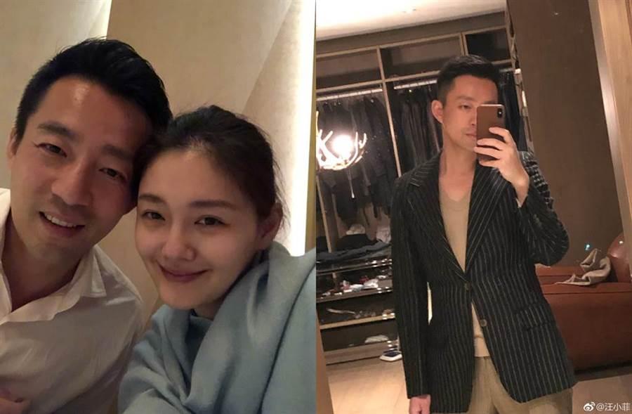 汪小菲和大S結婚育有一對寶貝兒女。(圖/翻攝自微博)