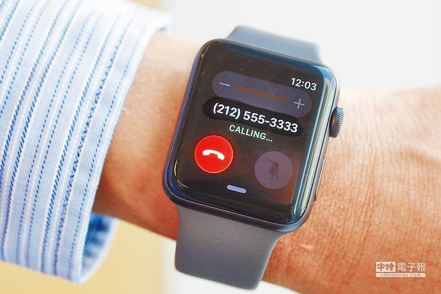 蘋果Apple Watch未能避開10%關稅。(美聯社)