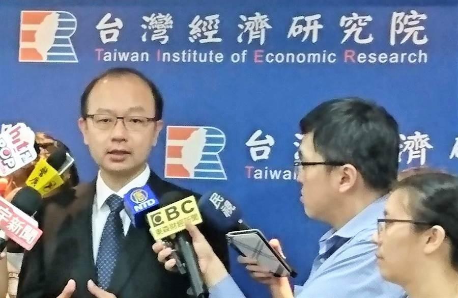 台灣經濟研究院景氣預測中心主任孫明德。(報系資料照)