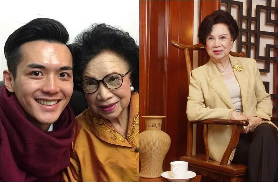 香港資深女演員梁舜燕辭世,孫子阮浩棕萬般不捨。(圖/取材自東網)
