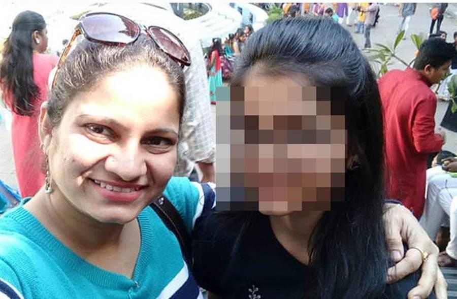 印度女星傳出殺害女兒後上吊輕生。(圖/spotboye)