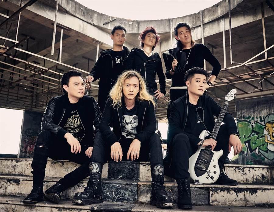 來自新加坡的「天地會」樂團。(樂音唱片提供)