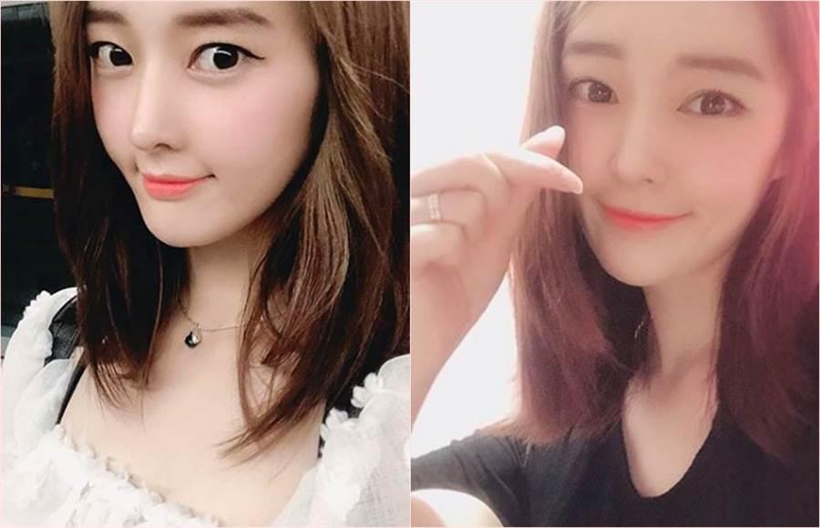 T-ara25歲的前成員雅凜宣布將嫁給企業家男友。(合成圖/翻攝自雅凜IG)