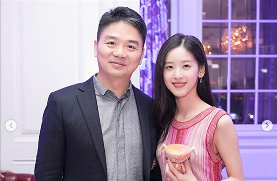 章澤天4年前和劉強東結婚。(圖/翻攝自zetianzzz IG)