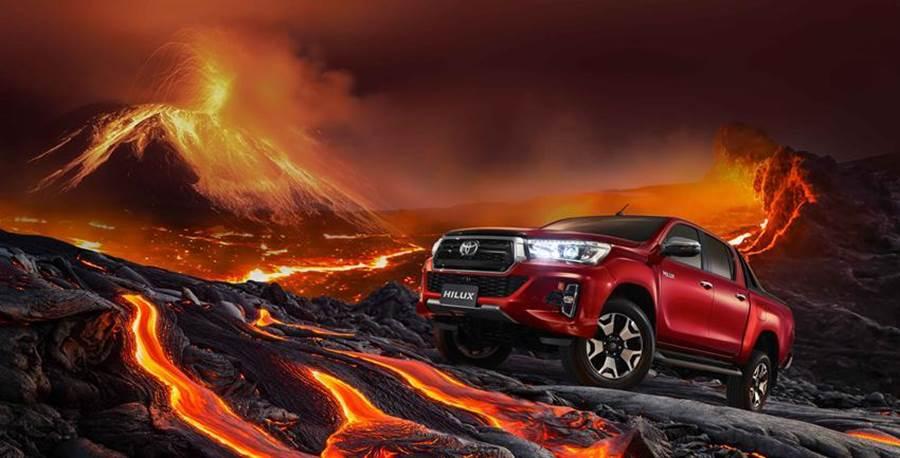 (豐田運動皮卡Hilux熱賣,上市短短兩周,今年500輛配額即宣告完售。圖/業者提供)