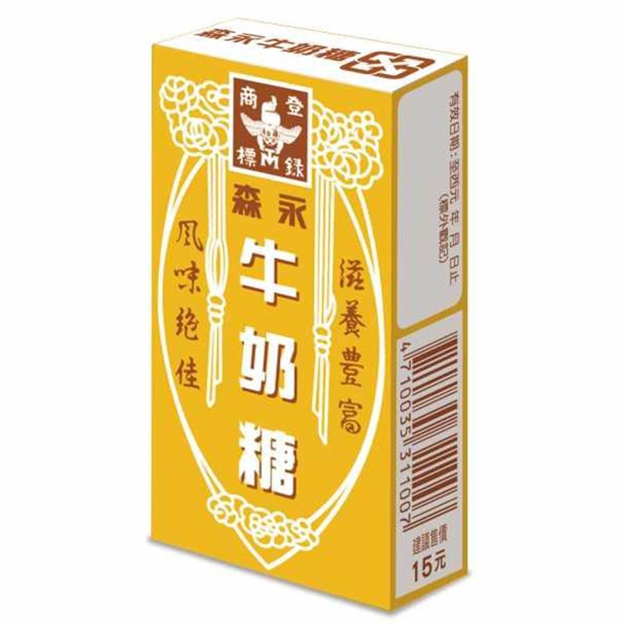 老牌子森永牛奶糖在台灣深受台灣民眾喜歡。(圖擷自森永製果官網)
