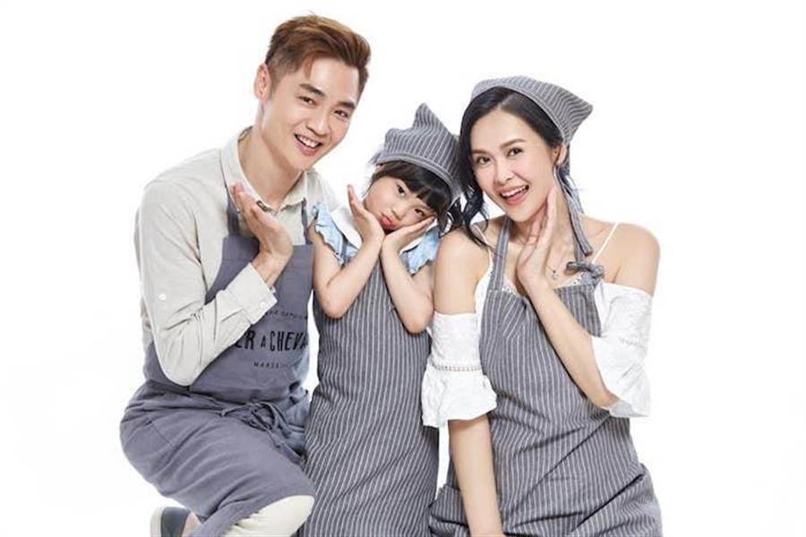 宋逸民、陳維齡最近帶女兒一起代言法國品牌家居系列用品。