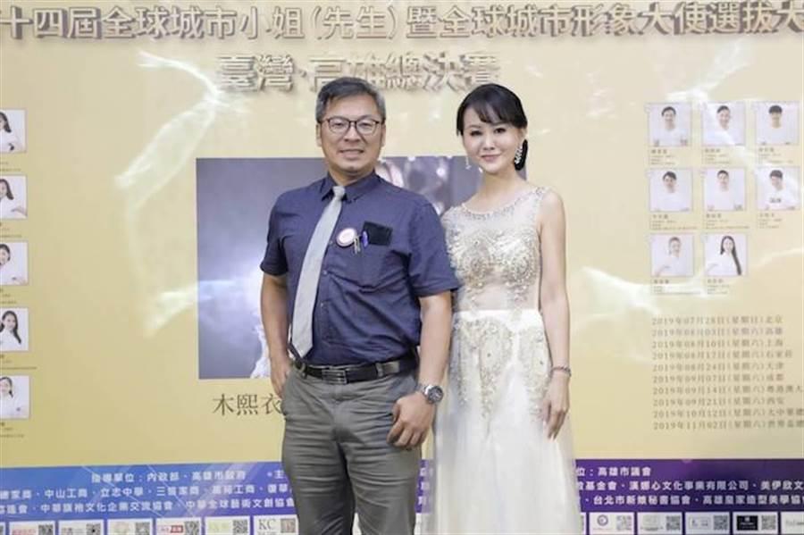 評審之一詹富盛。 中華全球城市選拔協會提供