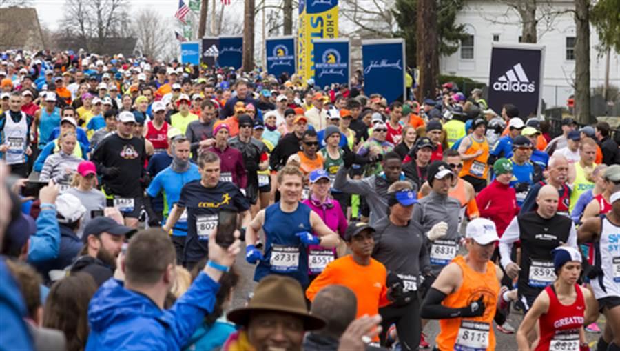 世界知名的波士頓馬拉松比賽(圖片取自/達志影像)