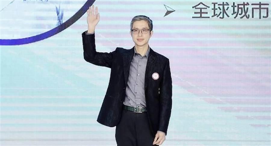 評審之一邱浚彥。 中華全球城市選拔大會提供