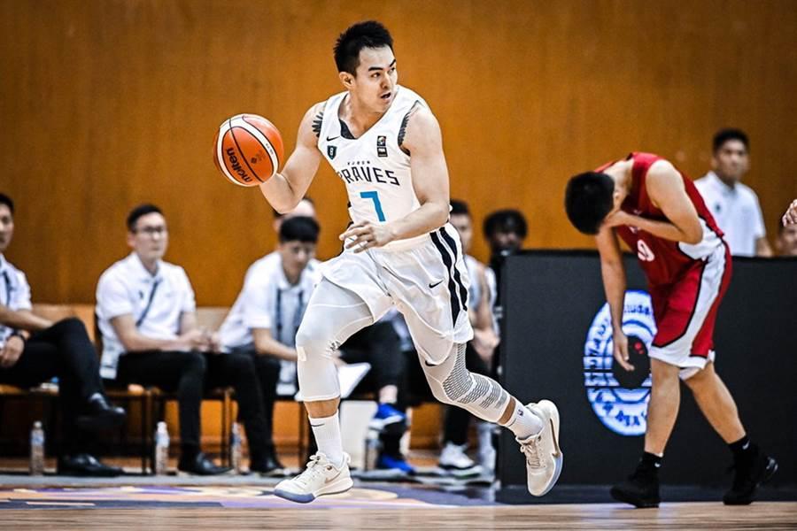富邦勇士張伯維14日攻下全場最高20分。(取自FIBA官網)
