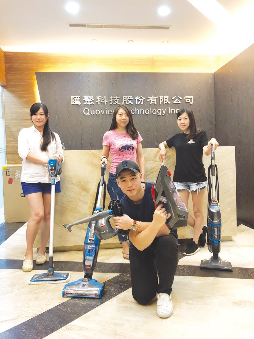 Bissell Crosswave 三合一吸塵洗地機,在全球銷售超過百萬台。圖╱江富滿