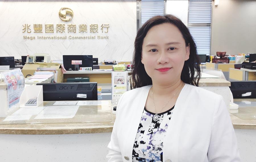 兆豐銀行信託處長邱玉玫。圖/黃馨穎