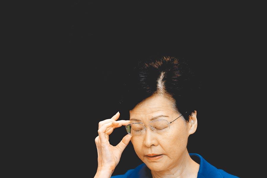 特首林鄭月娥稱,香港已進入「緊急情況」。(路透)