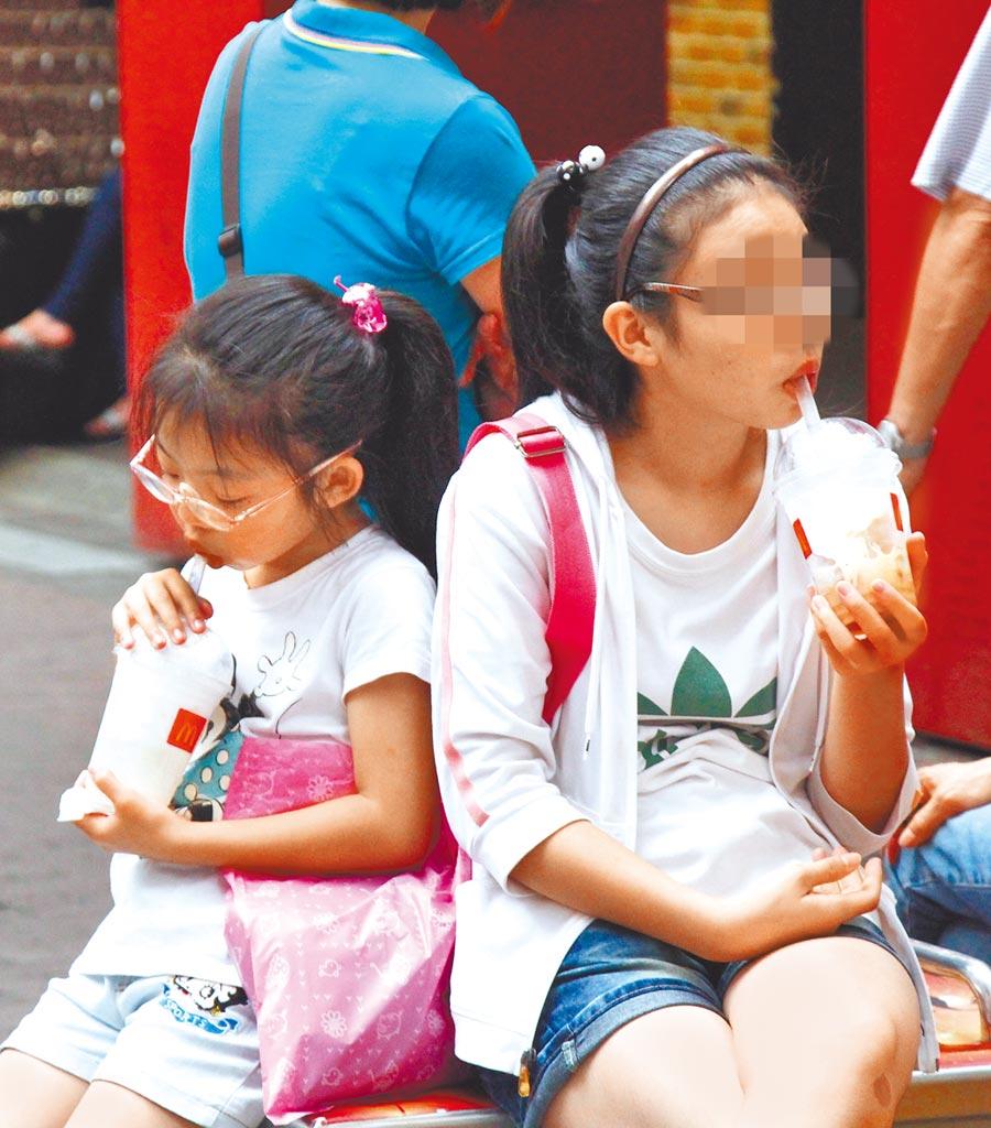 注意力缺陷過動症的孩子易衝動、不專心,而這可能與飲食型態有關。圖非當事人。(本報資料照片)