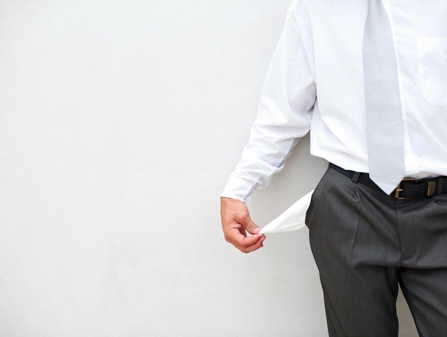 寶寶類理財跑輸CPI,貨幣基金收益一降再降。(CFP)